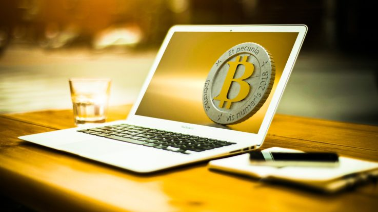bitcoin Bild am PC