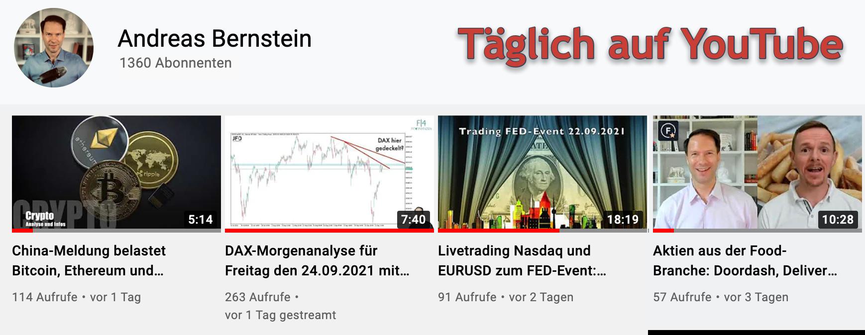 YouTube Andreas Bernstein